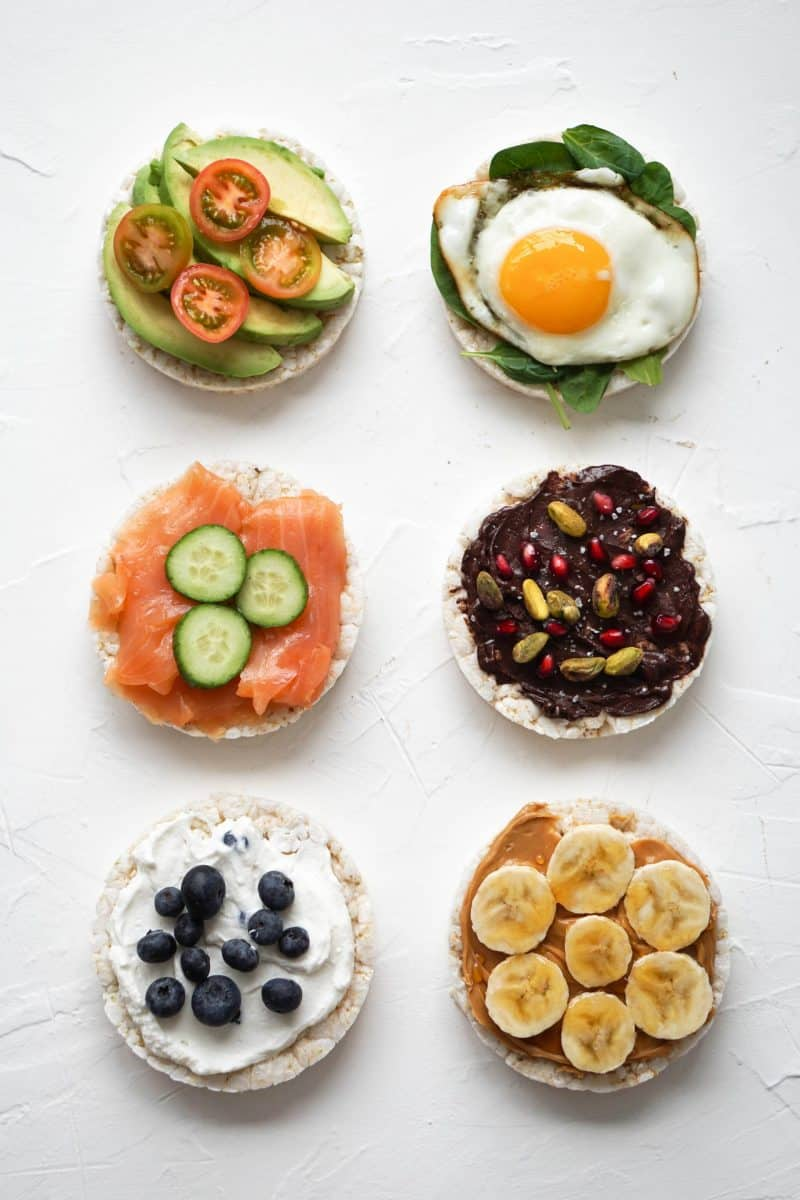 6 WAYS TO RAMP UP YOUR RICE CAKE TOPPINGS