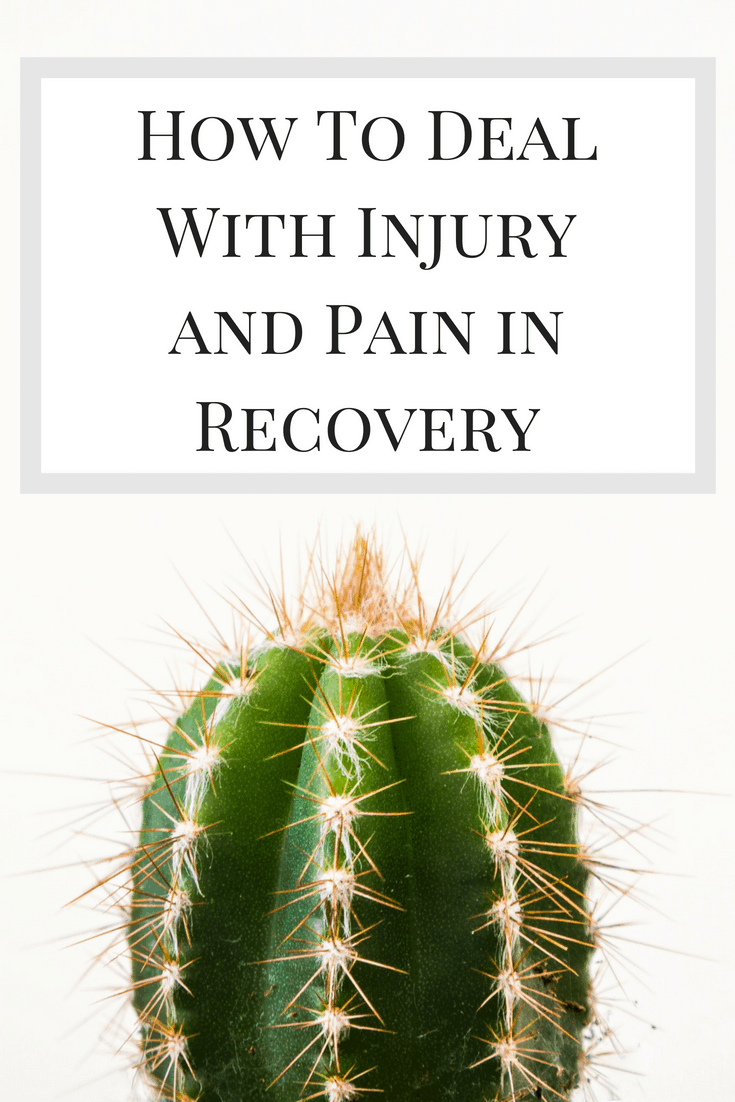 How To Deal With Injury and Pain in Recovery