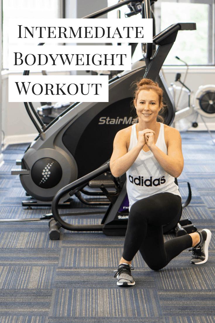 Intermediate Bodyweight Workout