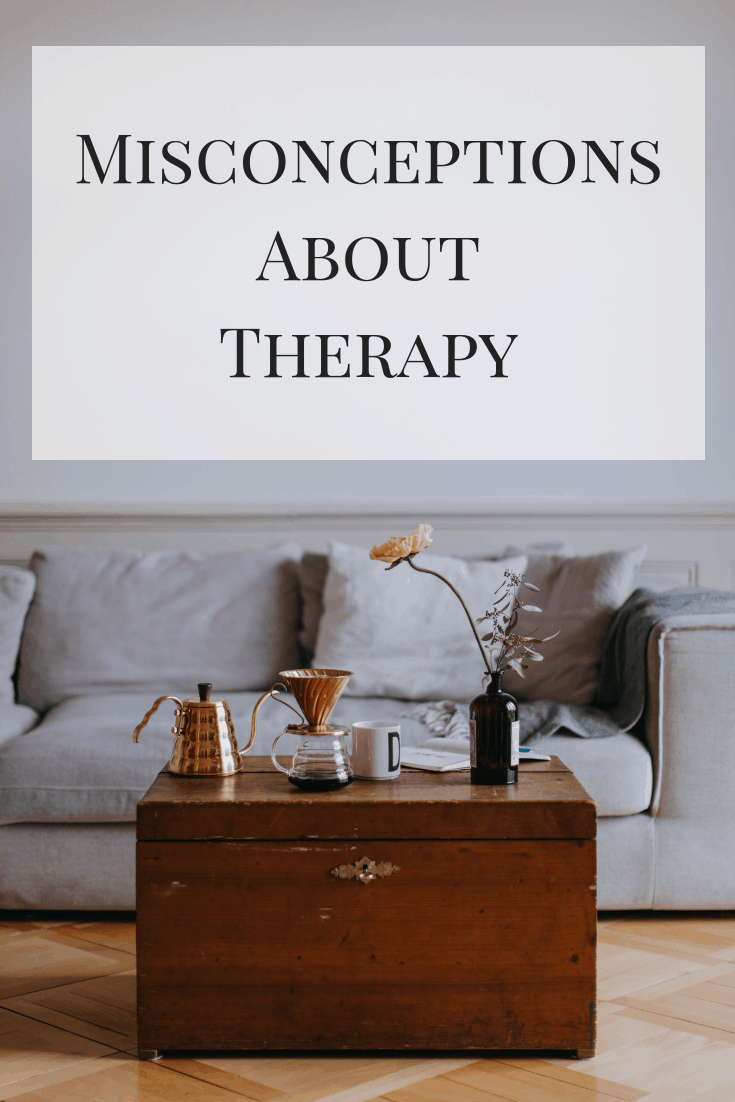 A look at some of the most common questions and misconceptions about therapy with explanations about what it actually means to get help. #recovery #mentalhealth #therapy #counseling #depression #anxiety