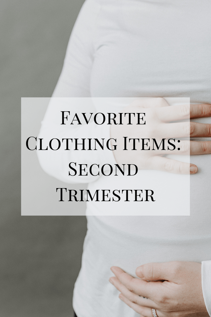 A look at some of my favorite second trimester clothing pieces #pregnant #pregnancy #clothes