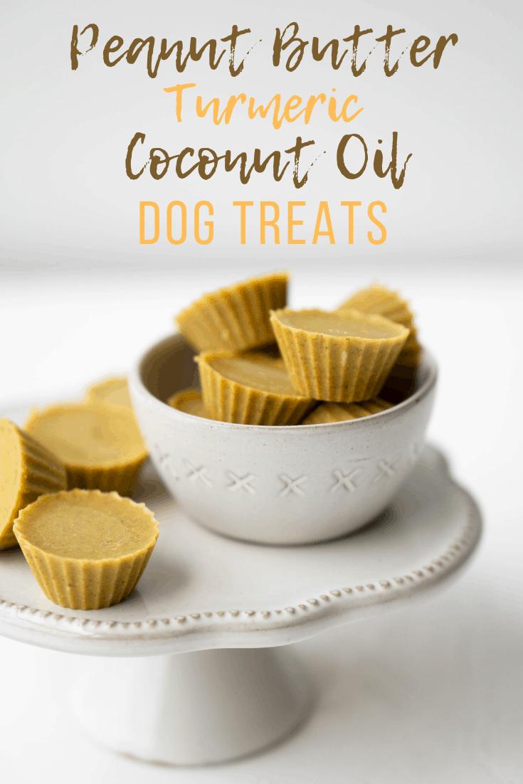 Peanut Butter Turmeric Coconut Oil Dog Treats