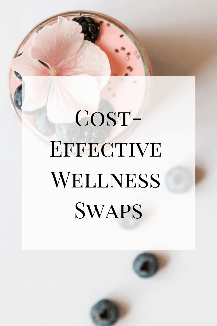 See how you can be part of the wellness world with cost-effective wellness swaps. Health and wellness don't need to be exclusive!