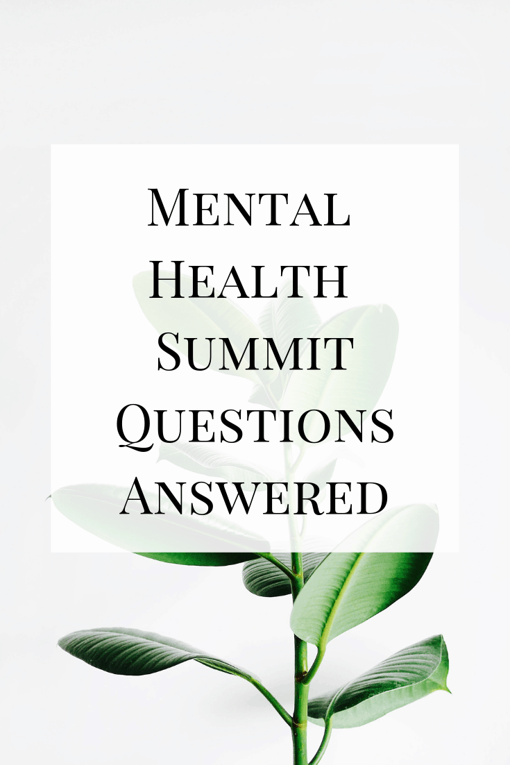 All of the most commonly asked questions about the mental health summit answered in one place.