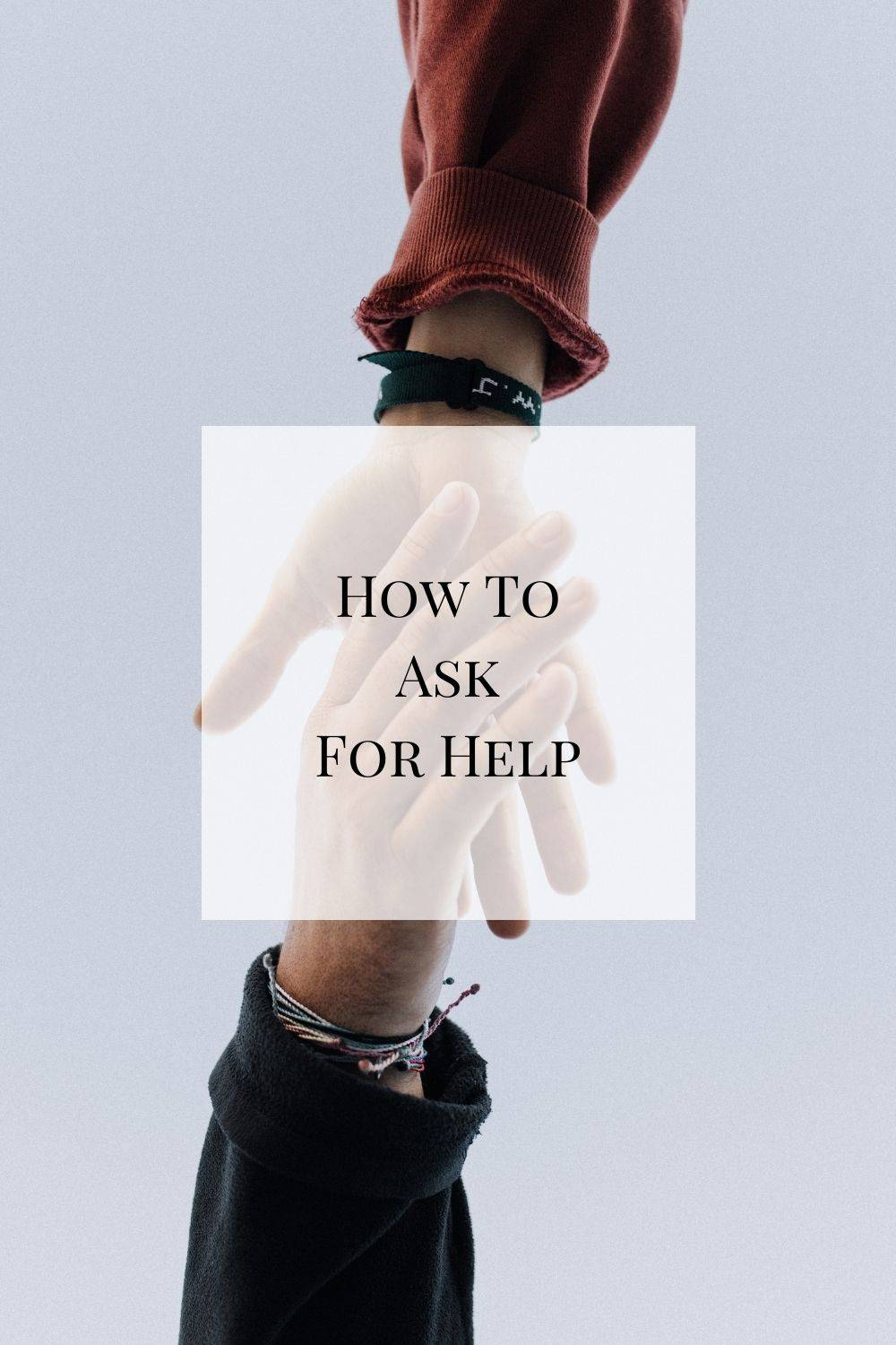 It's not easy to ask for help, although it should be something that we do more of. Here's what I've learned over time and some practical ways of how to ask for help from others.