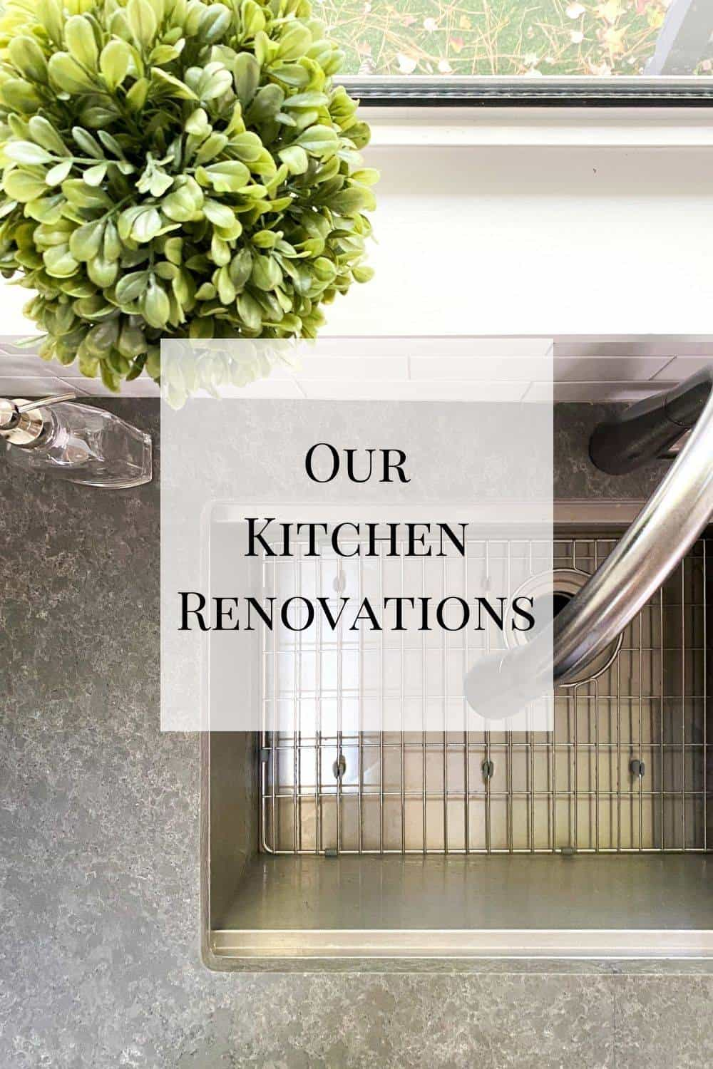 A look at the before and after of our kitchen renovations - all the new things and the great company we worked with!